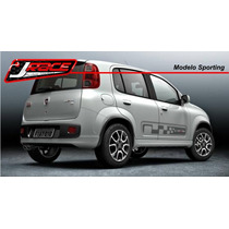 Kit Adesivo Carro Novo Uno Sporting. Modelos Exclusivos !