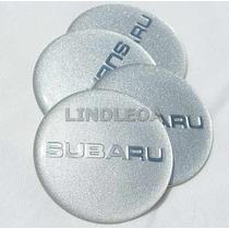 56mm Emblemas Centro Rodas Subaru Impreza Forester Legacy Pr