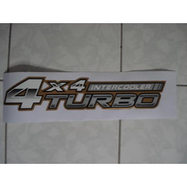 Toyota Hilux Adesivo Lateral Emblema 4x4 Turbo Intercooler
