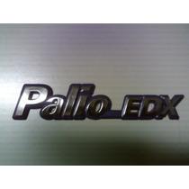 Emblema Palio Edx + Emblema Fiat + Emblema 1.0 Mpfi - Mmf