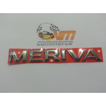 Emblema Meriva Cromado 2002 Em Diante- Gm- Chevrolet