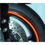 Adesivo Roda Refletivo P/ Moto E Carro +brinde+frete Grátis