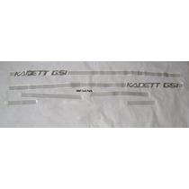 Faixa Lateral Kadett Gsi - Prata - Mmf Auto Parts