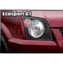 Kit Aplique Farol Mascara Negra Vinil Ford Ecosport G1
