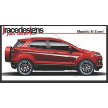 Kit Adesivo / Faixa Ford Novo Ecosport - Único E Exclusivo !