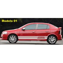 Kit De Adesivos Gm Chevrolet Astra Ss Sport 02 Ou 04 Portas