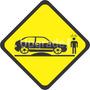 Adesivo Carro Rebaixado Enroscado Frete Grátis Gol Quadrado