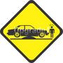 Adesivo Carro Rebaixado Enroscado Lombada Chevette Fixa Jdm