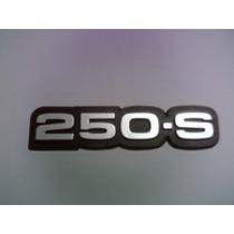 Emblema 250 S Cromado Opala E Caravan - Mmf Auto Parts