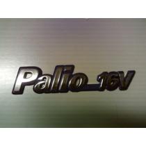 Emblema Palio 16v Fundo Azul Linha 97 - Mmf Auto Parts