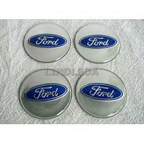 65mm Emblemas Para Rodas Ford Escort Fusion Focus Fiesta Ka