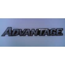 02 Ades Resindo Advantage Blazer/ S10 + Faixa Traseira Mmf