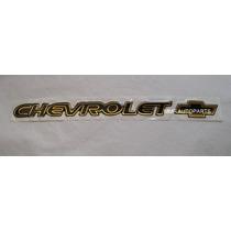 Emblema Resinado Dlx+ Blazer + Chevrolet+4.3 V6 Preto Mmf