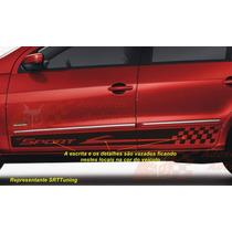 Vw Gol G5 G6 2013 Adesivos Kit Faixa Lateral Tuning Carros