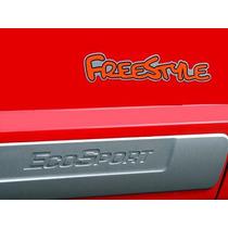 Letreiro Emblema Adesivo Freestyle Da Porta Da Ford Ecosport