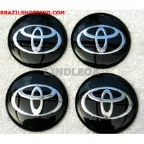 Emblemas Centro Rodas Toyota Corolla Camry Hilux Corona Pr