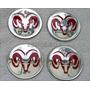 Emblemas Centro Rodas Rd Dodge Ram Dakota 1500 2500 Slt V8