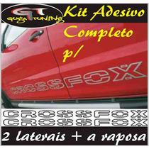Faixas Adesivas P/ Vw Crossfox / Fox / Space Fox Do (guga).