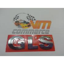 Emblema Gls Cromado- Gol Parati Saveiro Santana Polo