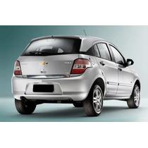 Friso Porta Malas Chevrolet Agile Cromado