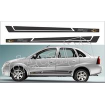 Kit Adesivos Chevrolet Corsa Sedan Maxx - Imprimax - Decalx
