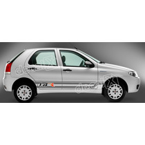 Kit Faixa Adesivos Fiat Palio 1.4r Larga - Imprimax - Decalx