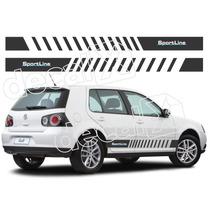Kit Adesivos Volkswagen Golf Sportline - Imprimax - Decalx