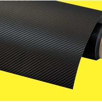 Adesivo Fibra De Carbono Preto 1,00 X 1,22 Imprimax