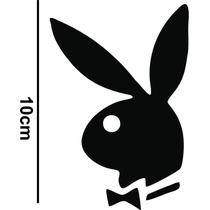Adesivo Decorativo Carro Simbolo Playboy Rebaixados Fixa