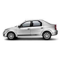 Kit Faixas Adesivos Renault Logan Sport - 3m - Decalx