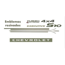 Kit De Faixa Lateral S-10 Executive 2007