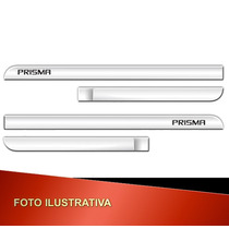 _jogo Friso Lateral C/ Nome Gravado Prisma 2013/ Cromado_