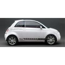 Kit Faixas Adesivos Fiat 500 50004 - 3m - Decalx
