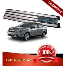 _jogo De Friso Lateral Novo Fiat Grand Siena Palio 2012