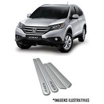 Friso Lateral Honda New Civic City Fit Crv Pintado Na Cor
