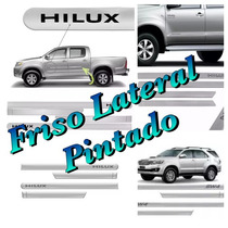 Friso Lateral Hilux Sw4 Frontier March Versa Sentra Livina