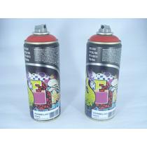 Tinta Spray Vermelho Vivo Fosco Artes Graffiti 400ml