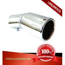 Ponteira De Escapamento Monza C/ Grau Tubo 2 1/4 C/ Parafuso