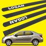 Friso Lateral Novo Logan 2014 - Mod. Opcional Personalizado