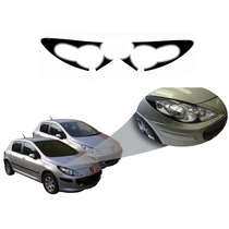 Aplique Vinil Mascara Negra Peugeot 307 2009 2010 2011 2012