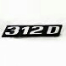 Emblema Grade Sprinter 312 D