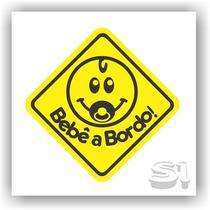 Adesivo Bebê A Bordo! /segurança /família /carros /crianças