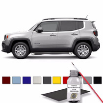 Tapa Risco Automotivo Prata Melfi - Jeep Renegade