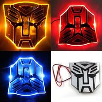 Adesivo Tuning Pvc Com Led Transformers Autobot