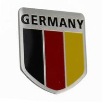 Adesivo Tuning -3d Germany - Alemanha - Alumínio