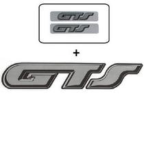 Kit Adesivos Gol Gts Adesivo Gts - Tampa + Colunas