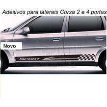 Adesivo Sport Faixa Lateral Corsa Wind Super Wagon Classic 1