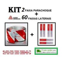 Kit Faixa Refletiva 2 Parachoque + 60 Lateral Avery Caminhão