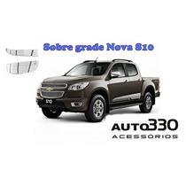 Sobre Grade Nova S10 2012 2013 2014 2015 Filetada S-10