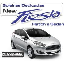 Soleira Proteção Total Ford New Fiesta Hatch + Frete Grátis